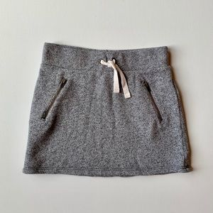 GAP Kids Girl Gray Mini Skirt
